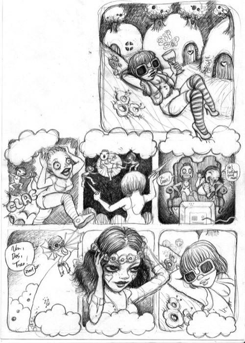 Книжка комиксов отFafi. Изображение № 3.