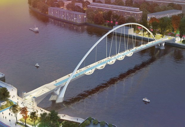 Выложены 74 проекта нового моста через Темзу. Изображение № 57.