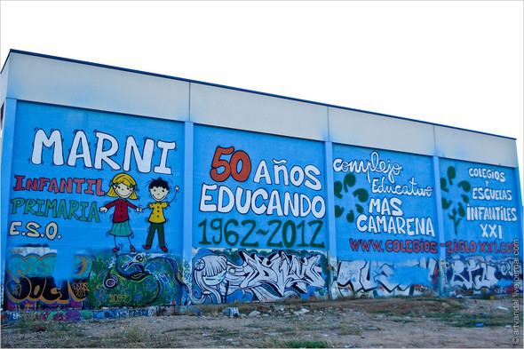Стрит-арт и граффити Валенсии, Испания. Изображение № 68.