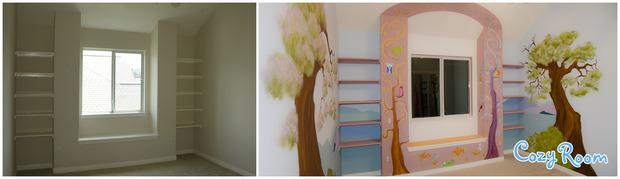 Детская комната по мотивам мультфильма «Рапунцель. Запутанная история». Изображение № 13.