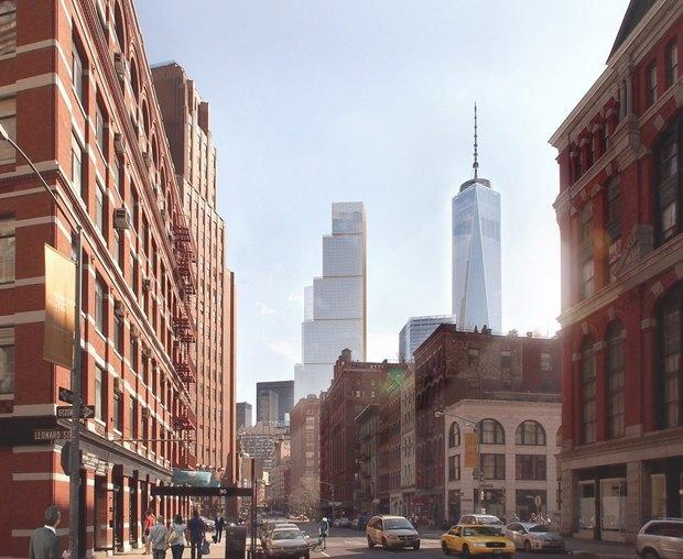 Представлен проект третьей повысоте башни Манхэттена. Изображение № 5.