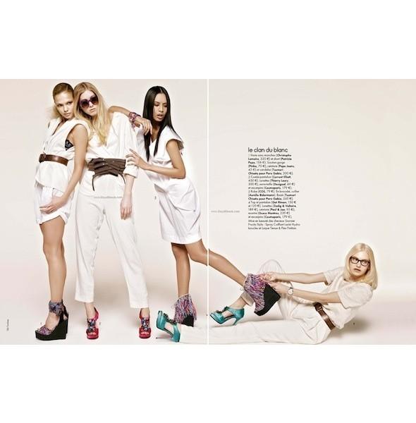 5 новых съемок: Amica, Elle, Harper's Bazaar, Vogue. Изображение № 14.