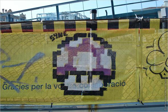Стрит-арт и граффити Барселоны, Испания. Изображение № 34.