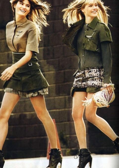 Изображение 5. Фотосессия в Vogue в стиле милитари.. Изображение № 5.