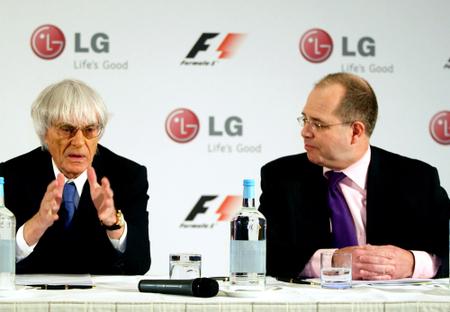 LGстановится глобальным партнером Formula 1. Изображение № 1.