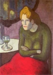 Пабло Пикассо, Любительница абсента. Изображение № 27.