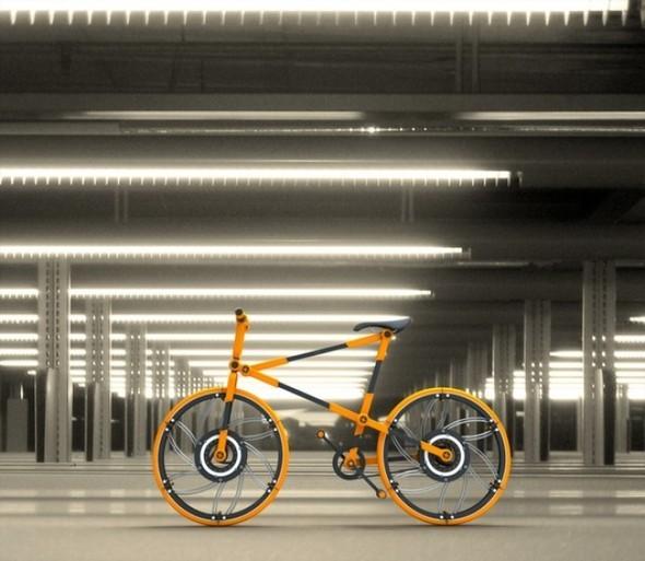 Складной велосипед отVictor M. Aleman. Изображение № 2.