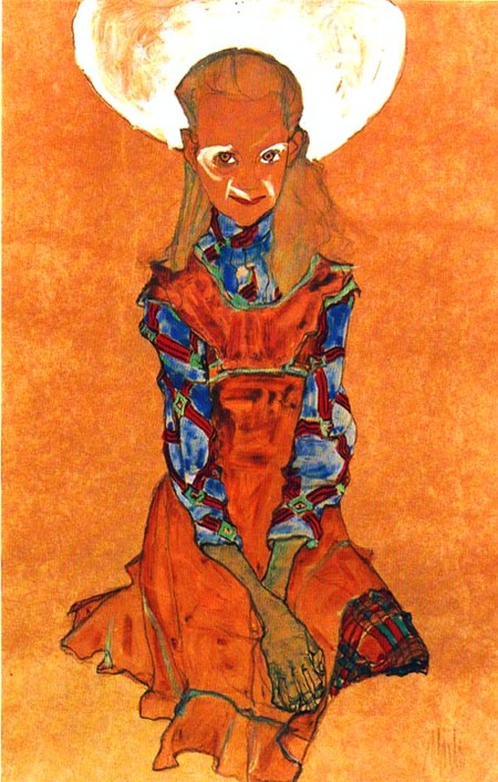 Эгон Шиле. Эротика вискусстве живописи ирисунка. Изображение № 22.