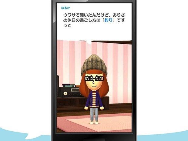 В первой мобильной игре Nintendo будут общаться Mii-аватары. Изображение № 4.