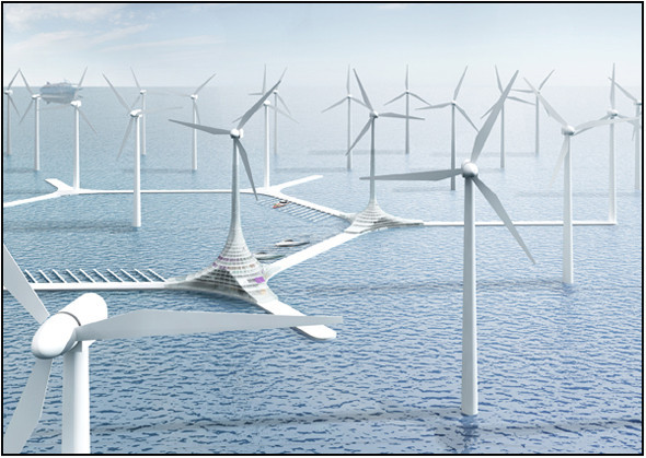 Сила ветра - наше зелёное будущее. Изображение № 2.