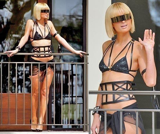 Панк-гламур отНиколь Риччи: Подражая Lady GaGa. Изображение № 12.