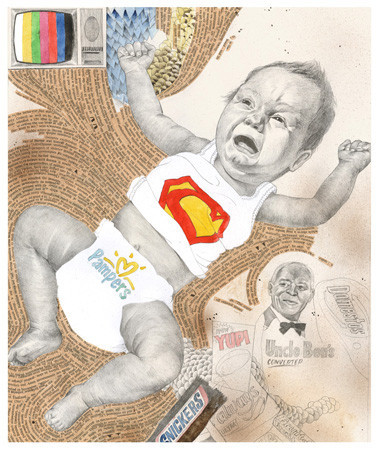 Создать папку: 5 успешных российских иллюстраторов рассказывают о портфолио. Изображение №88.