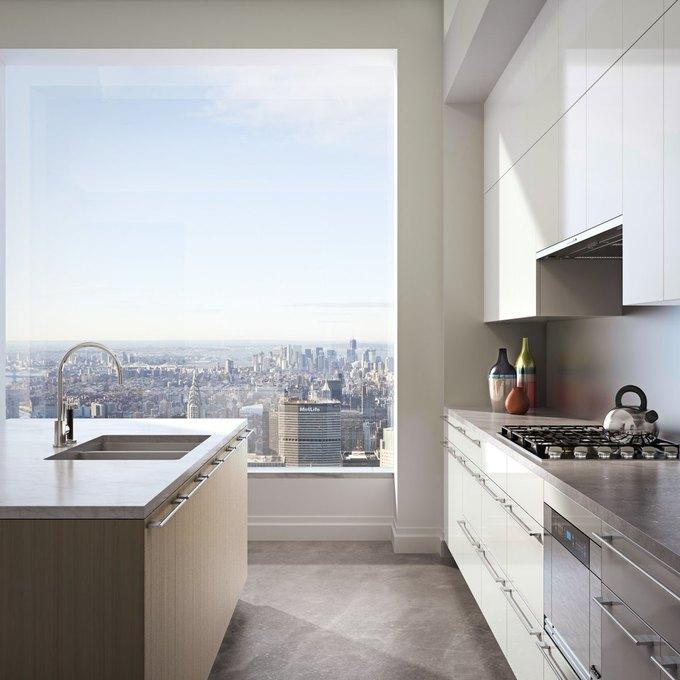 Фото дня: вид с самого высокого жилого здания Нью-Йорка. Изображение № 7.