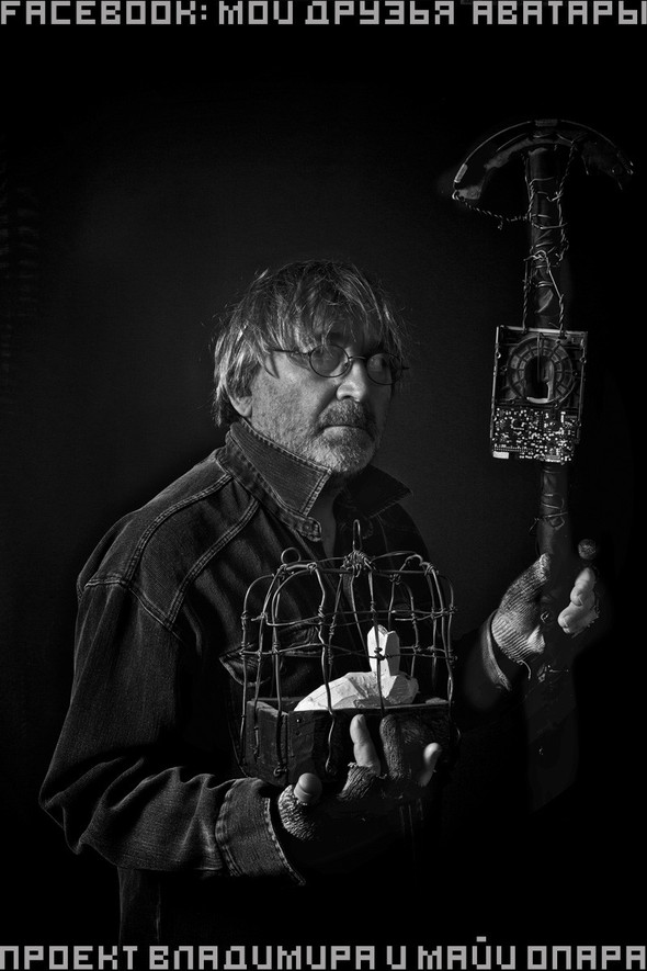 "Выставка Владимира Опара ""E-CRUCIFIX"". Изображение № 1."