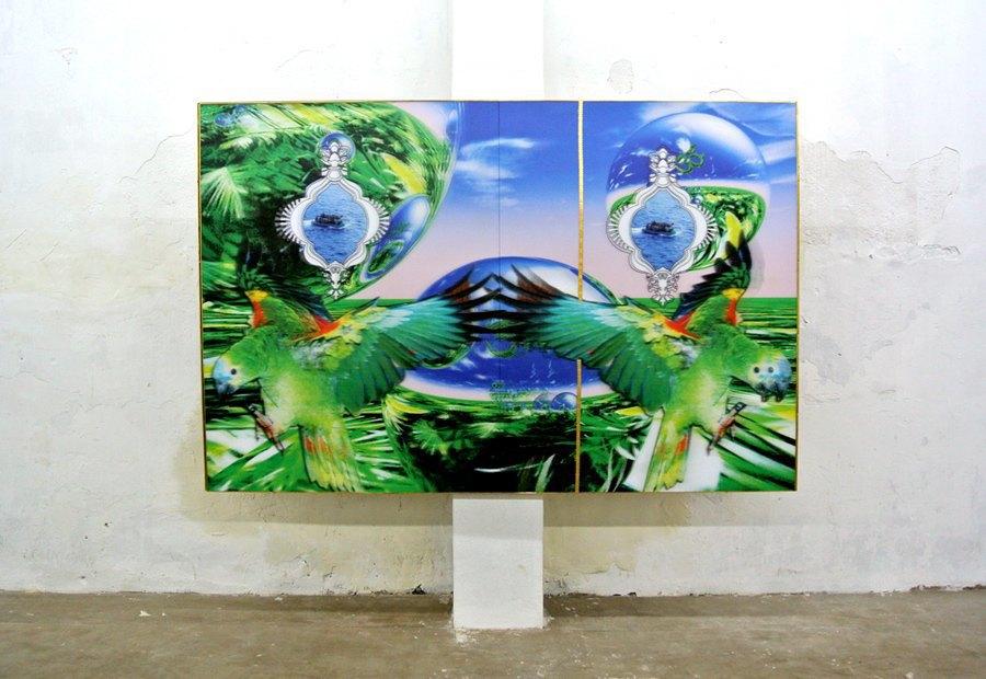 Репортаж с 1-й индийской биеннале: M.I.A., Бакштейн и граффити. Изображение № 17.