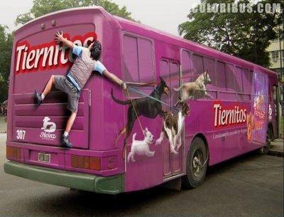 Необычная автобусная реклама. Изображение № 8.