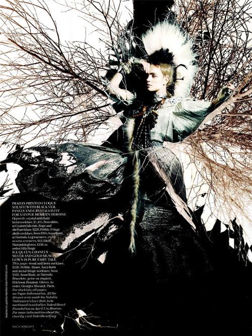Vogue UK февраль. Изображение № 8.