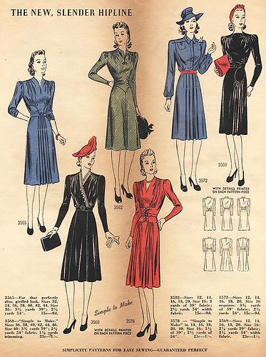 Костюм впериод рецессии: сегодня ив 1940-х. Изображение № 3.
