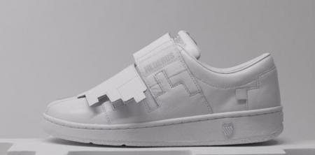 Геометрическая обувь отK-Swiss. Изображение № 4.