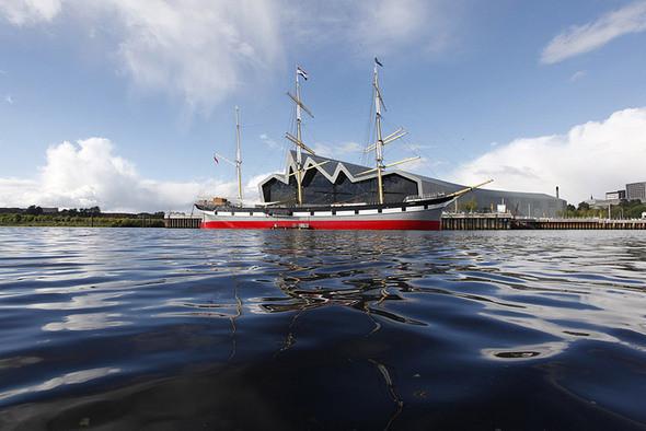 Изображение 4. Музей транспорта Glasgow Riverside от Zaha Hadid.. Изображение № 4.