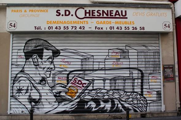 Стрит-арт центра Парижа. Изображение № 24.