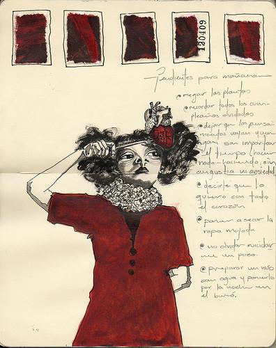 Мексиканская художница ERIKA KUHN. Изображение № 39.