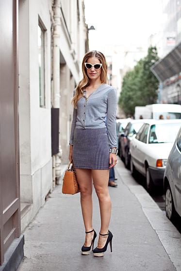 Уличный стиль на Неделе высокой моды в Париже. Изображение № 85.