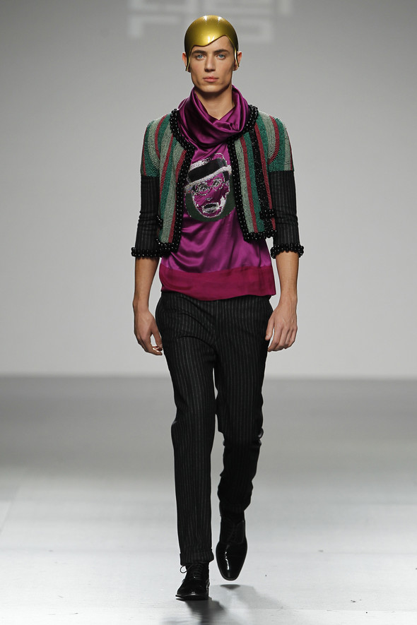 Madrid Fashion Week A/W 2012: David del Rio. Изображение № 8.