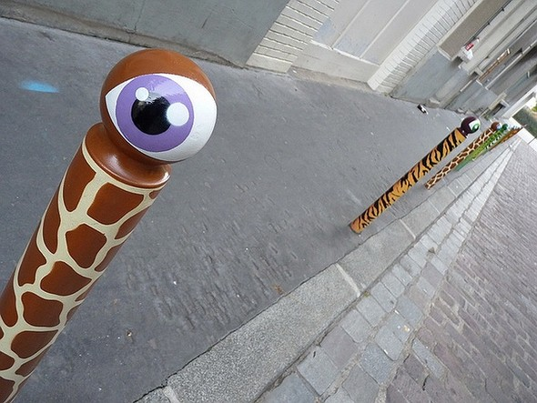 Стрит-арт в Париже. Изображение № 33.