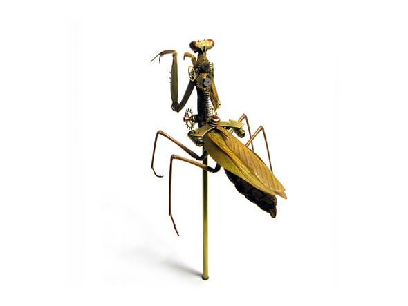 Стимпанк насекомые от Mike Libby. Изображение № 13.
