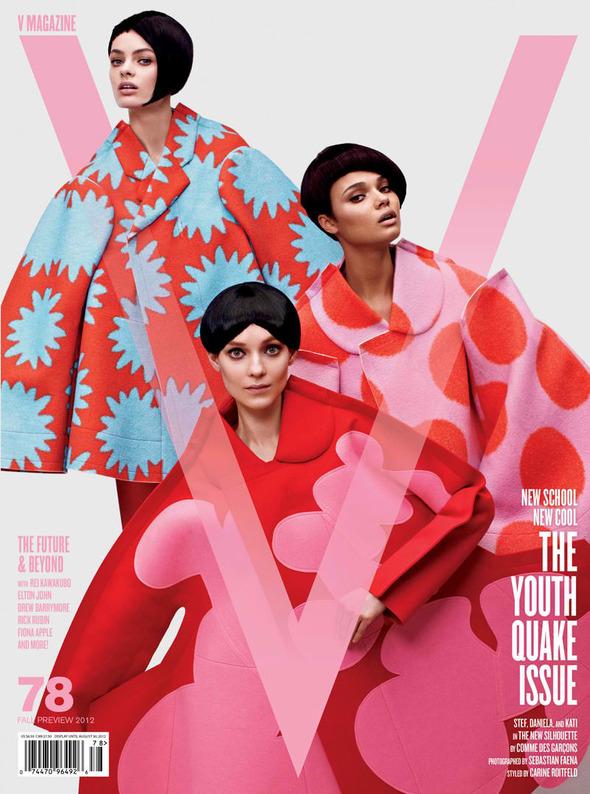 Новые съемки: Vogue, V, Elle и другие. Изображение № 23.