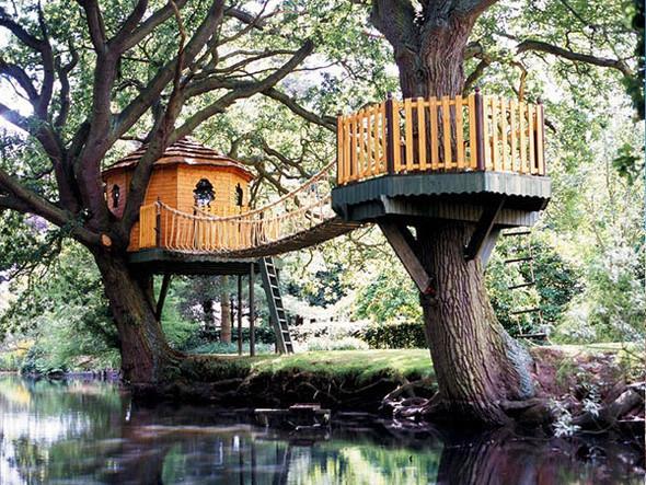 Дома надеревьях отAmazon Tree Houses. Изображение № 7.