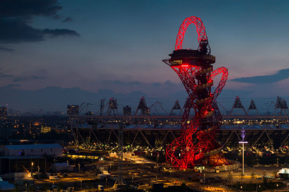 Аниш Капур открыл Олимпийскую башню. Изображение № 3.