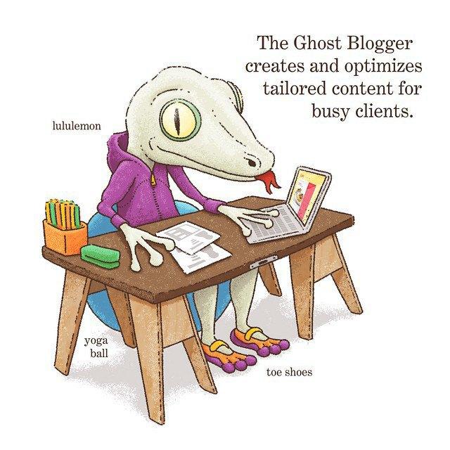 «Блогер-призрак создаёт и оптимизирует заказной контент для занятых клиентов». Изображение № 12.