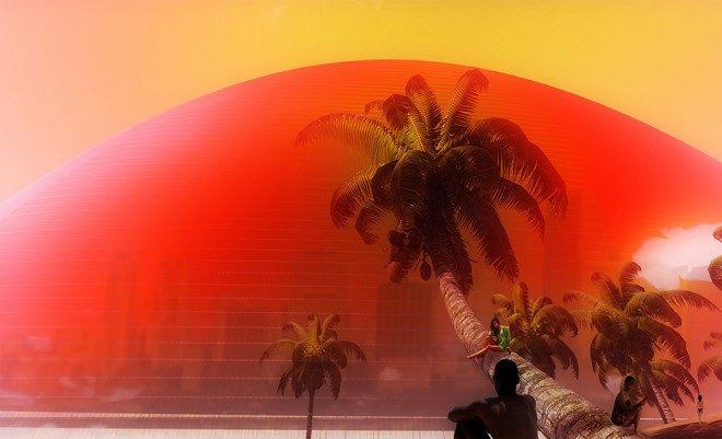 В Майами хотят построить отель в виде Солнца. Изображение № 3.