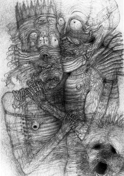 Архив работ Ждислава Бексински. Изображение № 26.