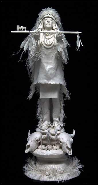 Бумажные скульптуры. Изображение № 40.