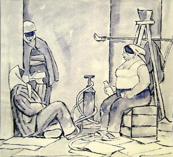 Леонид Сойфертис. рисунок, карикатура. Изображение № 17.