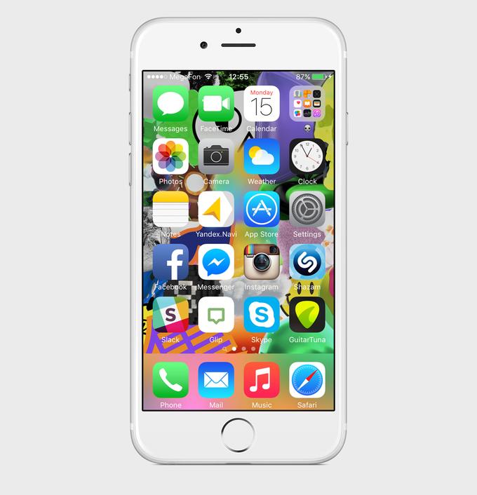 Экран моего смартфона: дизайнер Роман Любимов. Изображение № 2.