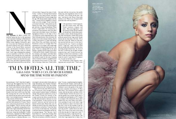 Съёмка: Леди Гага для Vanity Fair. Изображение № 3.