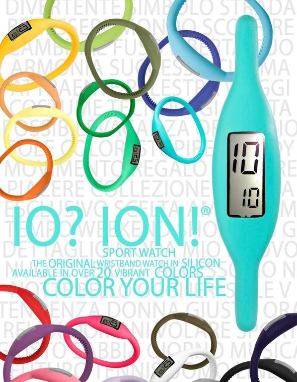 Силиконовые часы-браслеты IOION. Изображение № 10.