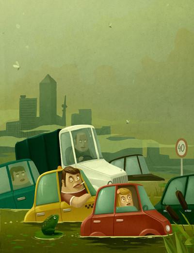 Красивые иллюстрации Андрея Гордеева. Изображение № 10.