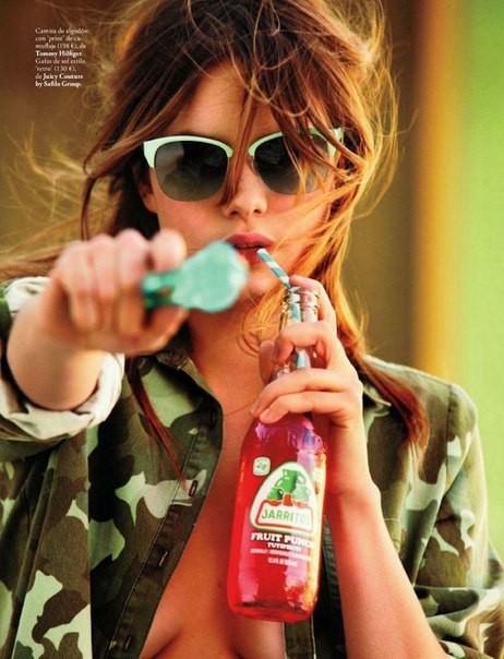 Сьемка: Камилла Роу для Elle Spain Febriary 2012. Изображение № 8.