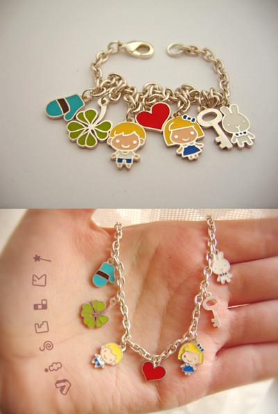 Изображение 1. Charm bracelet от Саши Кузьмичевой.. Изображение № 1.