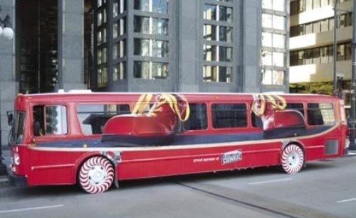 Креативные автобусы. Изображение № 7.