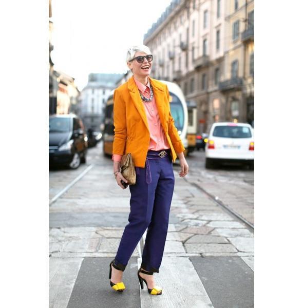 Изображение 71. На полях: 10 тенденций уличного стиля с прошедших недель моды.. Изображение № 71.