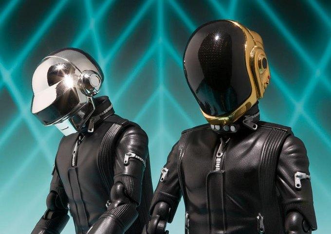 Фигурки Daft Punk Bandai. Изображение № 2.