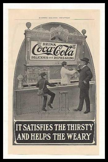 Изображение 1. Coca-cola – История бренда, история рекламы.. Изображение № 1.