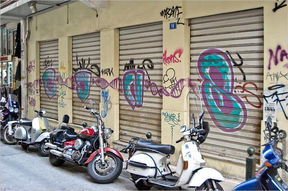Стрит-арт и граффити Афин, Греция. Изображение № 16.