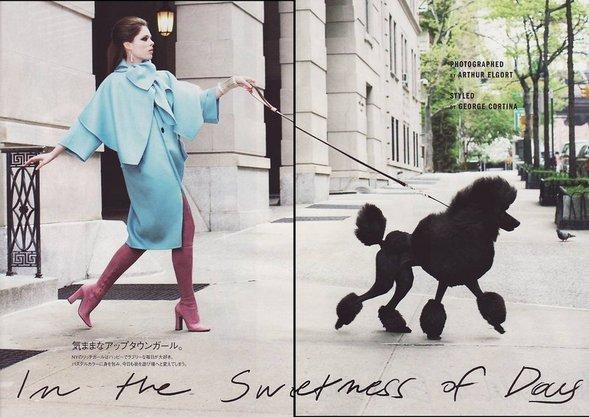 Coco Rocha. Vogue Japan(August 2008). Изображение № 1.